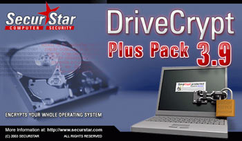 SecurStar DriveCrypt Plus Pack v3.90G