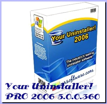 Your Uninstaller PRO v2006 5.0.0.360 Rus