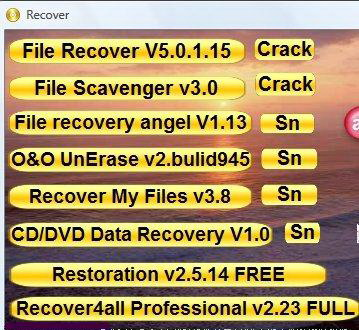 AIO File Recovery TOOLS