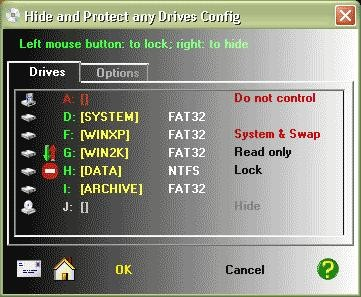 Hide and Protect any Drives 2.5.460