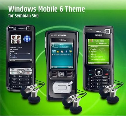 Windows Mobile  Themes for Symbian