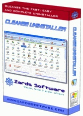 Cleanse Uninstaller Pro 2008 4.5.9