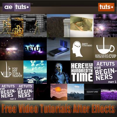 Video Tutorials for Adobe After Effects: AE.TUTSPLUS.COM (Vol.2)