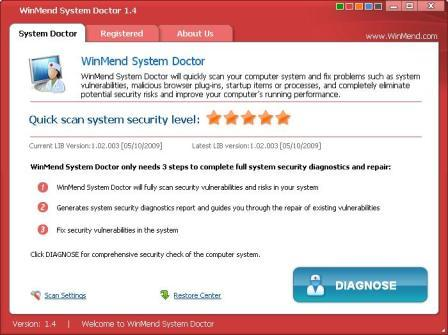 WinMend System Doctor 1.4