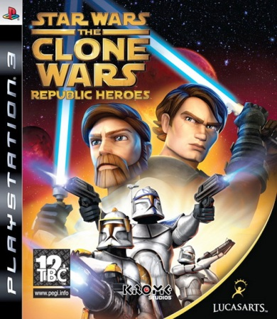 Star Wars The Clone Wars: Republic Heroes (2009/ENG/PS3)