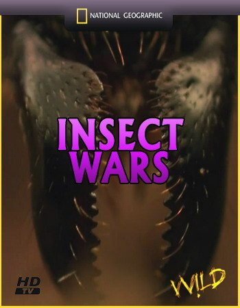 Войны насекомых / National Geographic. Insect wars (2005) HDTV 720p