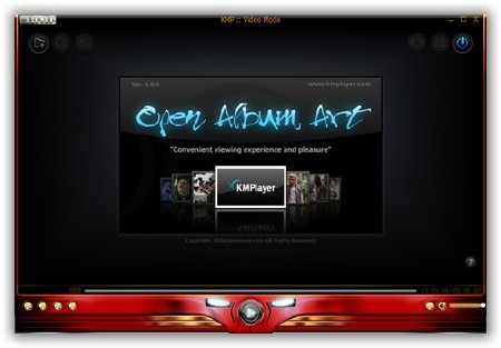 The KMPlayer 3.0.0.1438 (CUDA+HAM) сборка от 06.03.2011
