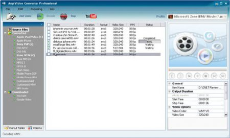 Any Video Converter Free Rus 3.2.1