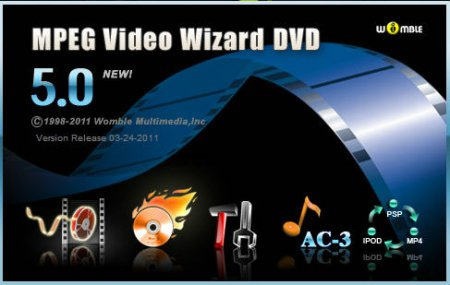 Womble MPEG Video Wizard DVD 5.0.1.100 RU RePack by Soft9