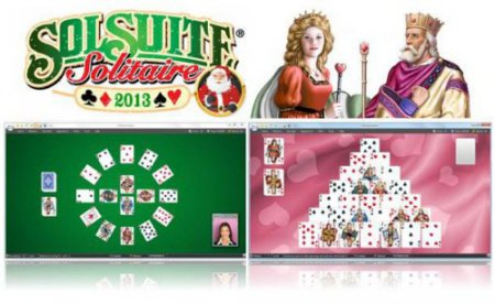 SolSuite Solitaire 2013 v13.00 + graphics pack 2013 (2012/Rus/Eng/PC) Portable by goodcow