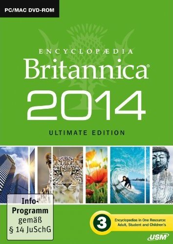 Encyclopaedia Britannica 2014 Ultimate Edition