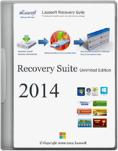 Lazesoft Recovery Suite Unlimited Edition 3.5.1 Final