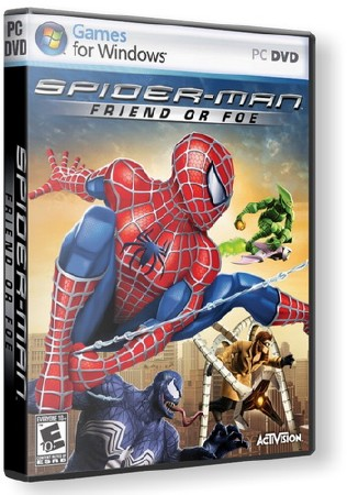 Spider-Man: Friend Or Foe (2007/Rus/PC) RePack от LMFAO