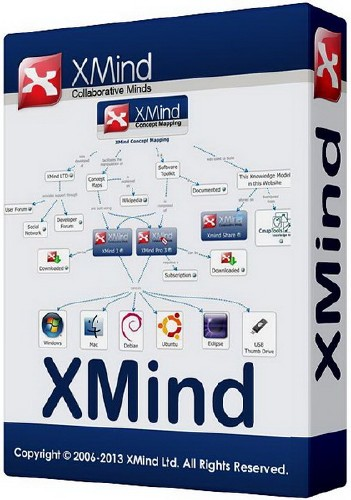XMind Professional 2013 3.4.1 Build 201401221918 Final
