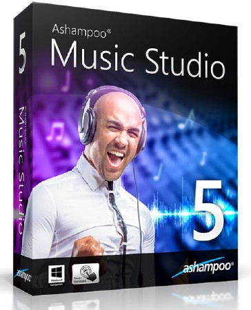 Ashampoo Music Studio 5.0.3.5 ML/RUS
