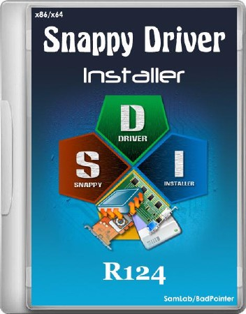 Snappy Driver Installer R124 (ML/RUS/2014)