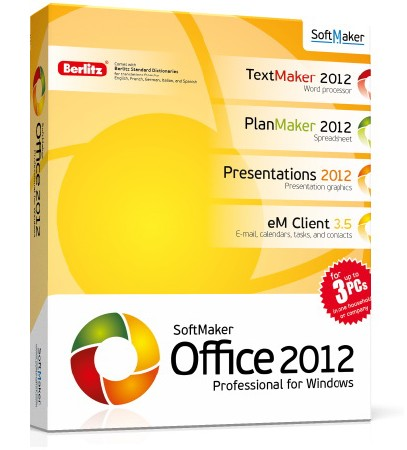 SoftMaker Office Professional 2012 rev 694 Portable