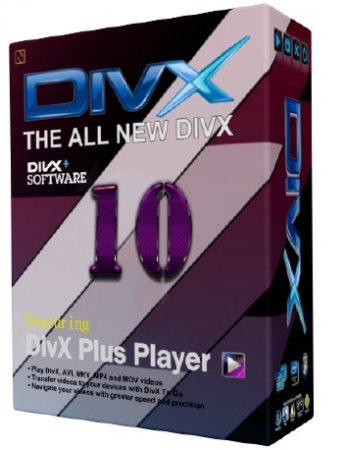 DivX Plus 10.2.3 Build 10.2.1.128 ML/RUS
