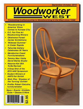 Woodworker West №5 (September-October 2015)