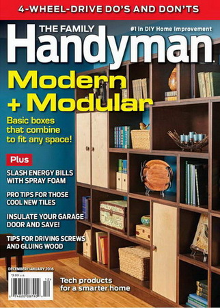 The Family Handyman №564 (December 2015 - January 2016)