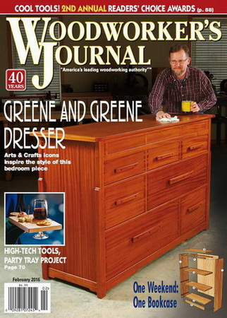 Woodworker's Journal №1 (February 2016)