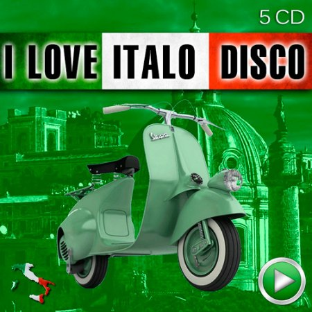 VA - I Love Italo Disco (5 CD) (2015)