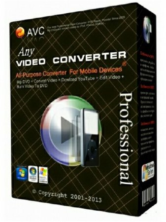 Any Video Converter Professional 5.8.7 ML/RUS