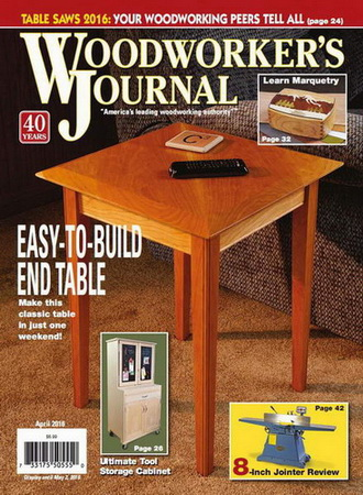 Woodworker's Journal №2 (April 2016)