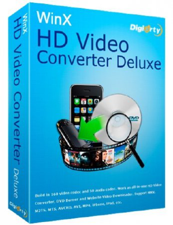 WinX HD Video Converter Deluxe 5.9.2.260 Build 22.02.2016 + Rus