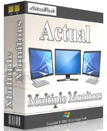 Actual Multiple Monitors 8.10 ML/RUS