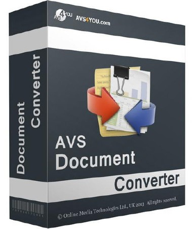 AVS Document Converter 3.1.2 (2017/Rus) Portable by kOshar