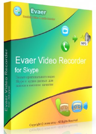 Evaer Video Recorder for Skype 1.7.2.39 + Rus