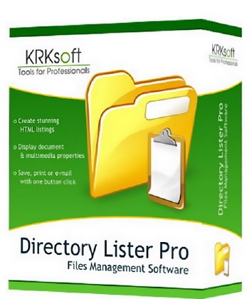 Directory Lister Pro 2.17.0.290 Enterprise Edition ML/RUS