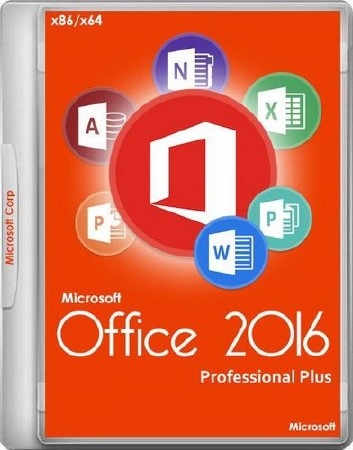Microsoft Office 2016 Professional Plus 16.0.4498.1000 (DC 04.2017)  RePack by D!akov