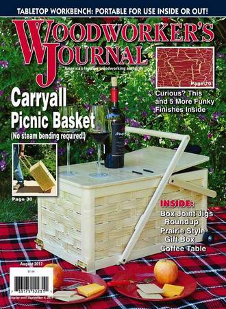 Woodworker's Journal №4 (August 2017)