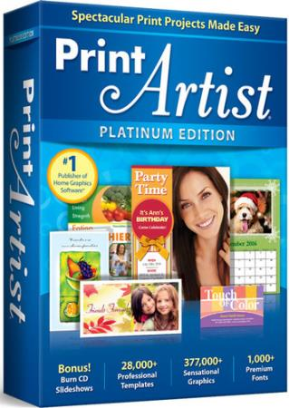 Print Artist Platinum 25.0.0.6 Portable (Ml/Rus)
