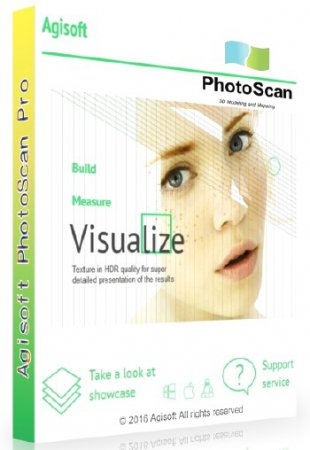 Agisoft PhotoScan Professional 1.3.3 Build 4827 ML/RUS