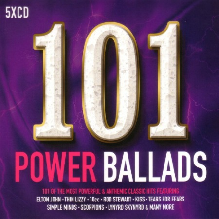 VA - 101 Power Ballads (2017)