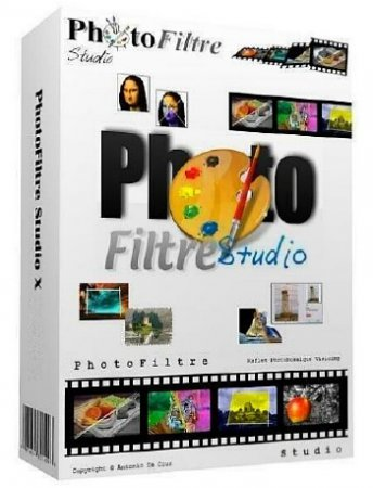 PhotoFiltre Studio X 10.13.0 + Portable ML/RUS