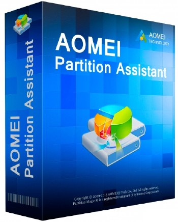AOMEI Partition Assistant Professional / Server / Unlimited Edition 7.5 ML/RUS