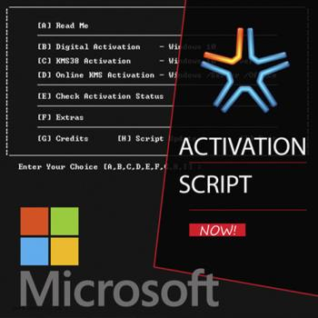Microsoft Activation Script 0.8 Stable