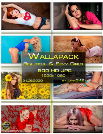 Wallapack Beautiful & Sexy Girls HD by Leha342 21.08.2020