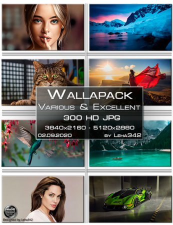 Wallapack Various & Excellent HD by Leha342 02.09.2020