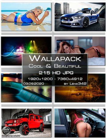 Wallapack Cool & Beautiful HD by Leha342 03.09.2020