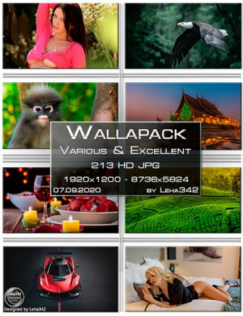 Wallapack Various & Excellent HD by Leha342 07.09.2020