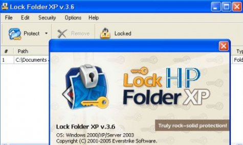 Lock Folder XP v3.6 + Rus. + key
