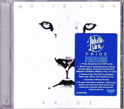 White Lion - Pride 1987 (Rock Candy Remastered & Reloaded) (2015)