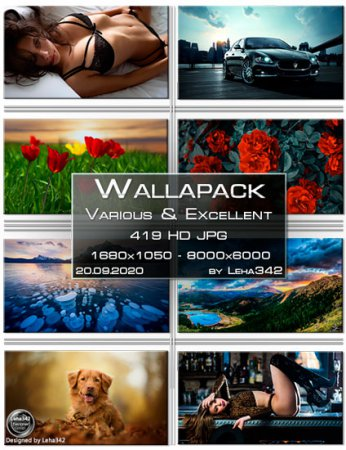 Wallapack Various & Excellent HD by Leha342 20.09.2020