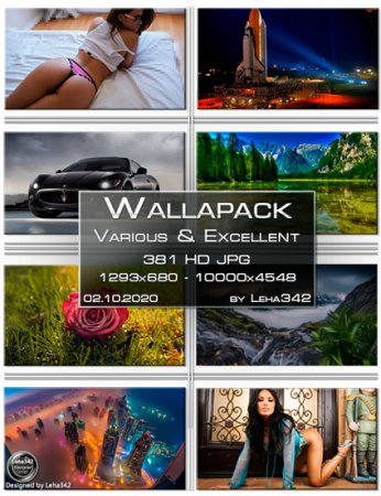 Wallapack Various & Excellent HD by Leha342 02.10.2020