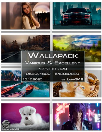 Wallapack Various & Excellent HD by Leha342 10.10.2020